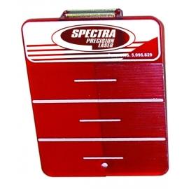 Spectra Precision raudona taikinio plokštelė rotaciniam, plokštumų lazeriniam nivelyrui