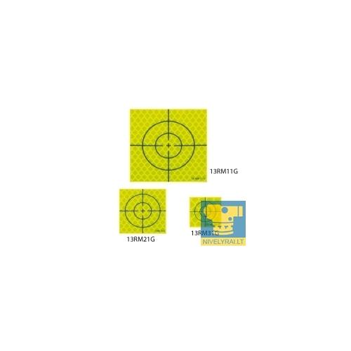 Goecke atspindintys lakštai - geltona/juoda (20/20 mm)