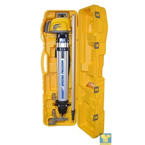 LL300N lazerinis nivelyras - statybinis standartas (viskas viename dėkle)
