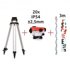 Optinio nivelyro komplektas - NAL20