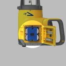 Spectra Precision GL ir UL serijos įkraunamų baterijų pakuotė